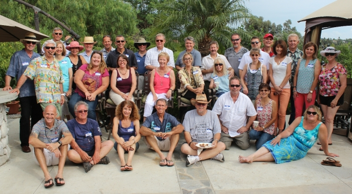 Members of Saddleback Sunrise Speakers Gather for their Annual Summer Party