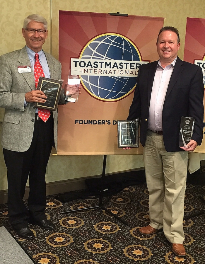Toastmaster of the Year and Div Gov