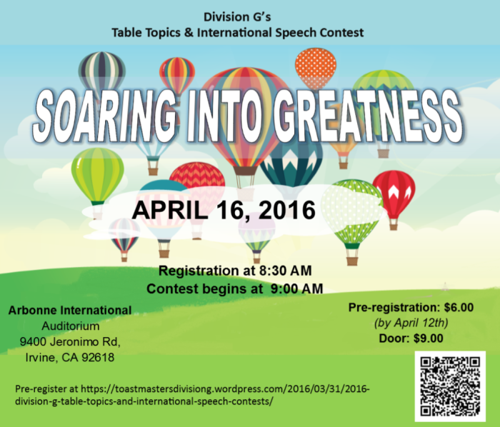 Spring 2016 Division Contest